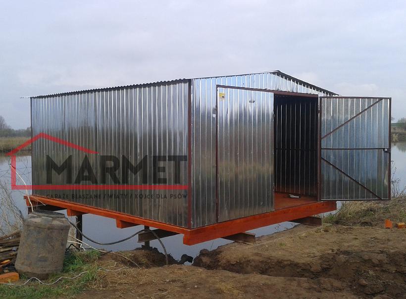 Garaż Blaszany 46 M Producent Garaży Blaszanych Marmet Garaże