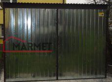 Garaż blaszany 3×5 m