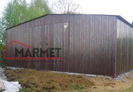 Hala garażowa 8×15 m – światło wjazdu 3 m