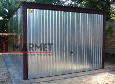 Garaż blaszany 3×5 m + brama uchylna
