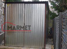 Schowek blaszany 2×3 m – garaż na budowę