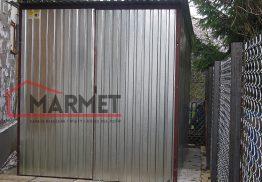 Garaż blaszany 2×3 m – standard