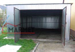 Garaż blaszany 4×8 m + światło wjazdu 2,00 m