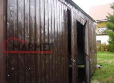 Dodatki i akcesoria w garażu blaszanym