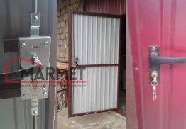 Drzwi do pomieszczeń gospodarczych, stodoły, hal i magazynów