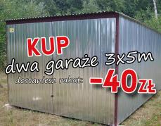 Letnia promocja -40 zł na zakupy w MARMET!
