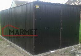Garaż Blaszany 3×5 m – czarny