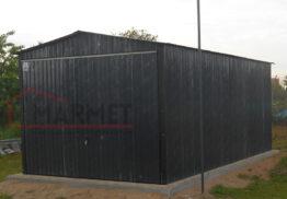 Garaż Blaszany 3×5 m – grafitowy